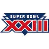Super Bowl XXIII Logo